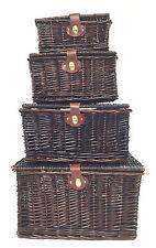 Lidded Hamper Home Storage Baskets