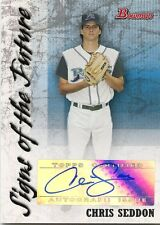 2007 Bowman Chris Seddon Signs of the Future Autograph Tampa Bay Devil Rays