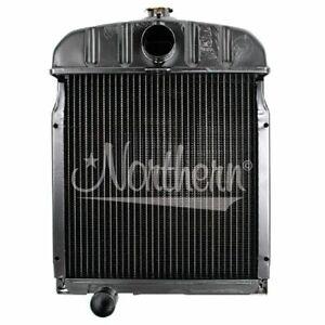 For International Tractor Radiator 16 X 16 1/4 X 2 424, 444, 2424, 2444