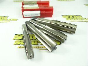"""4 NEW! RPM TOOL HSS 4 FL PLUG & BOTTOM TAPS 5/8""""-11 3/4""""-16 3/4""""-10 & 7/8""""-9"""