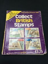Collect British Stamps 34th Edition Summer 1984 Stamp Collection Book Charity