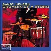 SANDY NELSON DRUMMIN UP A STORM NEW CD INSTRUMENTAL ROCK N ROLL      B2