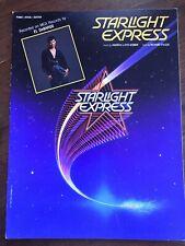 Starlight Express Original Broadway Production sheet music El DeBarge 1987