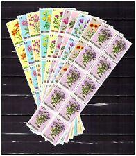 DEALER STOCK SAN MARINO MNH Nuovi 1971 Flowers 10v 10 SETS s32722