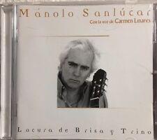 MANOLO SANLUCAR - Locura De Brisa Y Trino (CD) Import - RARE and HTF