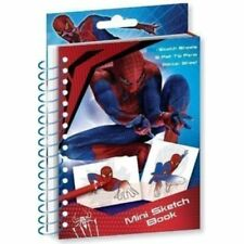 Spider-man Mini Sketch Colouring Book Set Stickers Party Loot Bag Fillers Gift