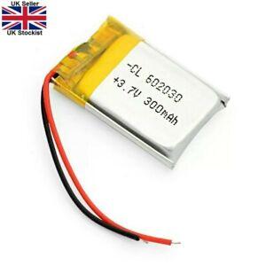 3.7V 300mAh Lithium Polymer Battery 602030 For Dash Cam Watch, PSP LED Lamp LIPO