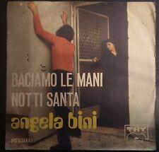 Angela Bini – Baciamo Le Mani / Notti Santa 45 giri  Tay Records – TQ 3004