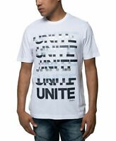 Sean John Mens T-Shirt Classic White Size 2XL Unite Graphic Tee $29- #193