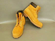 Timberland Wheat Waterproof Boot Size 14 Mens Soft Leather Classic Work Brown