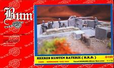 BUM Models 1/72 GERMAN HEERES KUSTEN BATERIE AT NORMANDY Figure Set