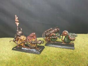 Warhammer Skaven Poison Wind Morter And Warpfire Thrower