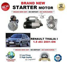 FOR RENAULT THALIA I 1.5 dCi 2001-ON STARTER MOTOR 1.4 kW 12 Teeth OE QUALITY