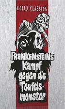 STEELBOOK  Godzilla FRANKENSTEINS KAMPF GEGEN DIE TEUFELSMONSTER Limited DVD Box
