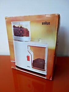 Braun Design KMM1 Mahlwerk-Kaffeemühle Aromatic Mokkamühle Espressomühle OVP