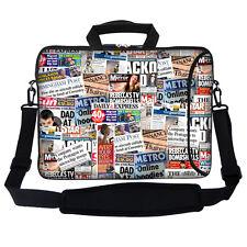 """15.6"""" Laptop Computer Bag Case w Pocket & Handle Shoulder Strap 2805"""
