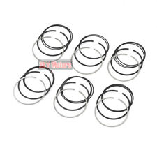 6pcs Piston Rings Set Φ82mm Goetze For BMW F10 F11 E83 E92 E93 525i Z4 N52 2.5L