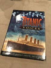TITANIC VOICES MEMORIES FROM THE VOYAGE BOOK SHIP WHITE STAR LINE