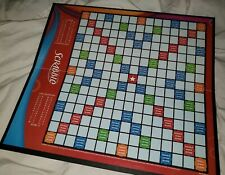 Scrabble Board Only Replacement Board Hasbro 2007 Good Condition