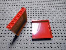 Lego 2 rote Panele Steine 1x6x5  59349 Set 7939 7208 7994 7992