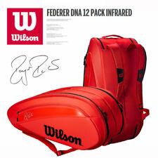 Wilson Roger Federer Dna 12Pk Red Wrz830812 Back Pack Bag Tennis Sports