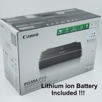 Canon Pixma iP110 Wireless Portable Mobile Inkjet Printer with Li-ion BATTERY