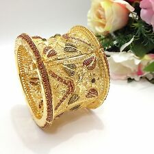 Indian Jewellery Bollywood Asian Bridal Ethnic Wear 22ct Gold Plated Bangle 2.6