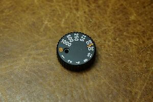 Leitz Leica M6 black Shutter Speed Dial For Parts, Original Spare Parts