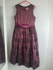 Next 9 Years Purple Party Dress