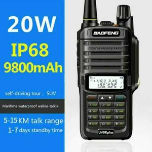 Baofeng UV-9R PLUS 20W Walkie Talkie VHF/UHF Dual Band Two Way Radio Authentic