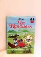 Walt Disney's - The Rescuers Vintage 1977 Hardback Book