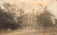 Real Photo Postcard Irving School in Moline, Illinois~123054