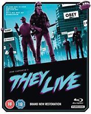 They Live [Blu-ray] [2018] [DVD][Region 2]