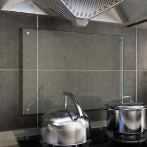 Kitchen Backsplash Tempered Glass Cooker Splashback Heat Resistant Wall Panel UK