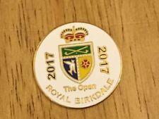 2017 BRITISH OPEN Royal Birkdale Logo Golf Ball MARKER New JORDAN SPIETH