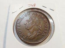 J68 Canada Nova Scotia 1832 Penny Token