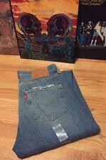 Vintage Levis 501 Small e No Redline Button Fly Denim Jeans. NOS. Size 32x32