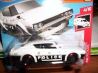 NISSAN SKYLINE 2000 GT-R POLICE - HOT WHEELS - SCALA 1/55