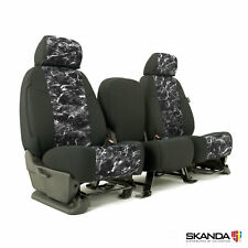 Mossy Oak Elements Blacktip Fishing Custom Front Seat Covers for Ford F250