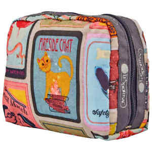 Le Sportsac Perfect Match Square Cosmetic Pouch 6701-F409