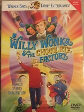 WILLY WONKA & THE CHOCOLATE FACTORY - Gene Wilder - DVD - Free Post!!