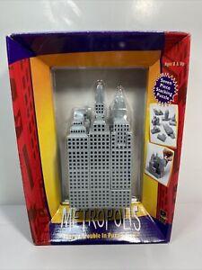 Metropolis Seven Piece Stacking Puzzle Game Rebuild Building Blocks 1998 DaMert
