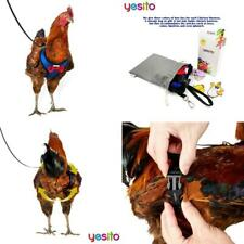 Yesito Chicken Harness Hen Size With 6ft Matching Leash – Adjustable,.