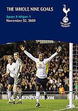 Tottenham Hotspur Spurs 9 Wigan 1 The Whole Nine Goals DVD New & Sealed Football