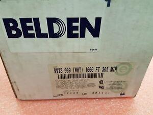 BELDEN 9928 009 300V 28 AWG White 1000FT
