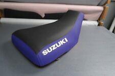 Suzuki LTZ400 2003-2012 Blue Sides Logo Seat Cover #nw3643mik3642
