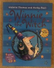 WINNIE THE WITCH 25TH ANNIVERSARY EDITION BOOK & CD IN HARD SLIPCASE -VGC