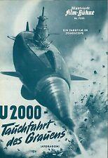 IFB 7233 | U 2000 - TAUCHFAHRT DES GRAUENS | Regie: Inoshiro Honda | Topzustand