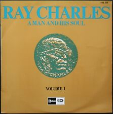 RAY CHARLES  A MAN AND HIS SOUL 33T LP BIEM STATESIDE FSL 101 avec LANGUETTE