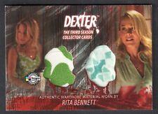 DEXTER SEASON 3 (Breygent) COSTUME CARD #D3 - C7 RITA BENNETT